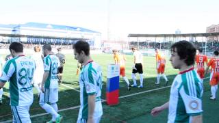 Товарищеский матч «Терек-2» — «Жемчужина» Ялта. 4 апреля 2014.