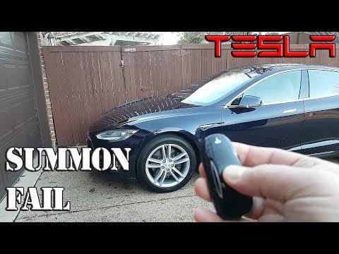 tesla-summon-fail