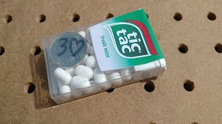 DO IMPOSSIBLE MAGIC TRICK WITH TIC TAC MINTS!