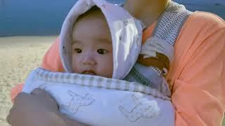[육아父이로그] 성냥팔이 아기 첫 바다여행 | 힐링 |…