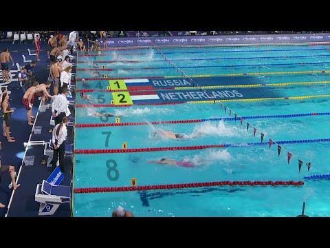Российские пловцы на чемпионате Европы установили мировой рекорд.