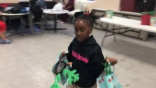 Stockton Girl, 9, Encourages Children at Homeless Shelter