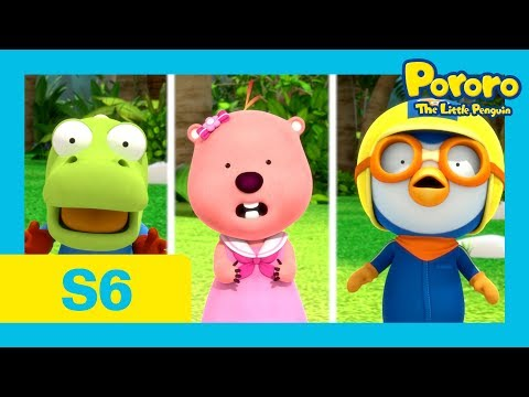 Pororo S6 | #08 The Adventures on Summer Island 2 [With CC] | Pororo the little Penguin