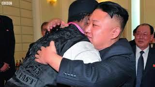 Is Dennis Rodman key to Trump-Kim summit? - BBC News