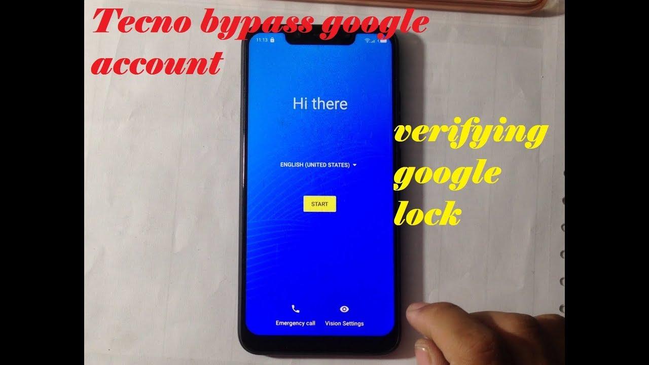Tecno Camon iAir 2 Plus google account bypass