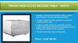 Top Ten Bedside Tables In Australia