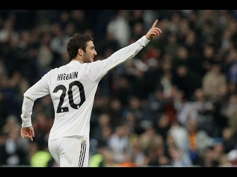 Gonzalo Higuain Real Madrid Days Best Goals EVER FULL HD 1080p