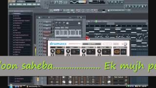 Mera mann kehne laga- Instrumental Fruity loops Cover.