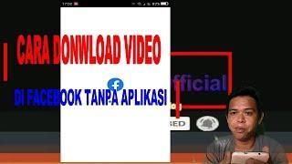 Gambar cover DOWNLOAD VIDEO DI FACEBOOK TANPA APLIKASI