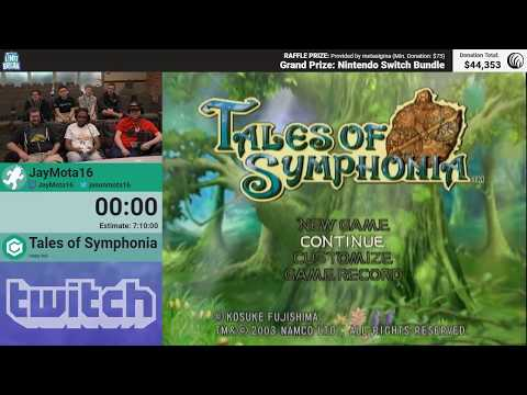 Tales Of Symphonia By JayMota16 (RPG Limit Break 2018 Part 22)