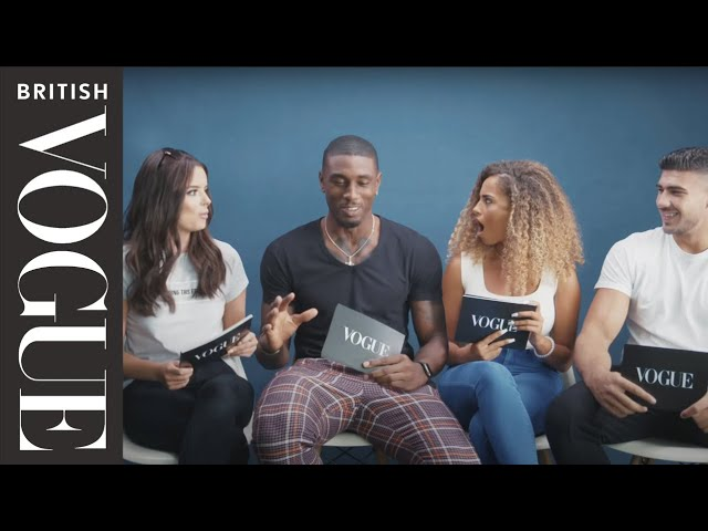 The Love Island Cast Solve British Vogue's Relationship Problems | British Vogue