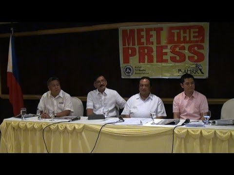BTMA  MEET THE PRESS (TOPIC: TBTK AND SANDUGO) - JUNE 24, 2015