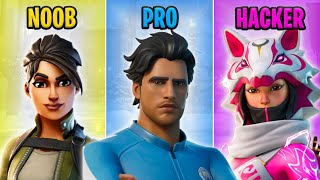 NOOB vs PRO vs HACKER - Fortnite Funny Moments #49