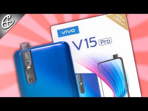 Vivo V15 Pro (SD675   Pop Up Selfie   48MP Triple Cam) Unboxing & Hands On Review!