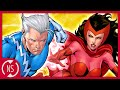 Who is the Father of QUICKSILVER and SCARLET WITCH? || Comic Misconceptions || NerdSync