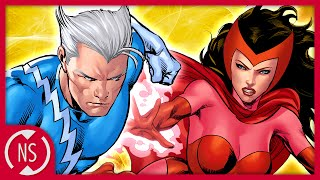 Who is the Father of QUICKSILVER and SCARLET WITCH? | Comic Misconceptions