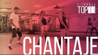 Chantaje - Shakira feat Maluma - #FitDanceTop10 com Coreografia | FitDance TV   FitDance