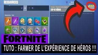FORTNITE - SAUVER THE WORLD - TUTO: COUNTRY EXPERIENCE FARMER !!!
