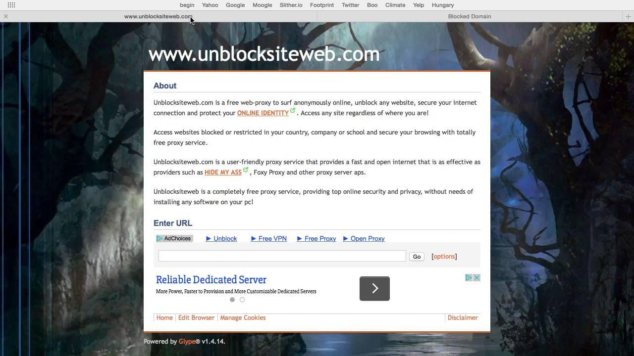 How To Get Around Blocked Websites On Iphone