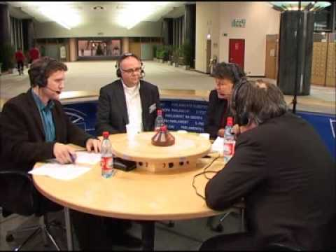 Station Europa. Debat over Co2 uitstoot en energie 7 januari
