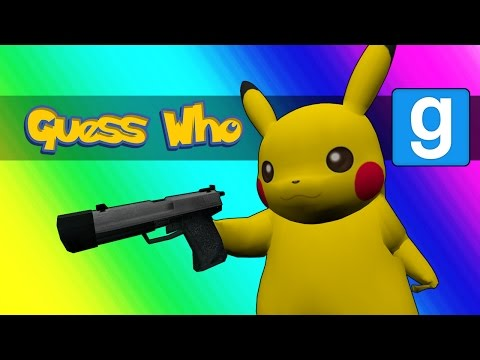 Thumbnail: Gmod Guess Who - Pokemon Edition! (Garry's Mod)