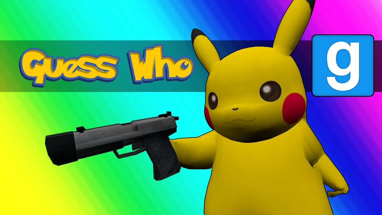 gmod guess who pokemon edition garry 39 s mod youtube. Black Bedroom Furniture Sets. Home Design Ideas