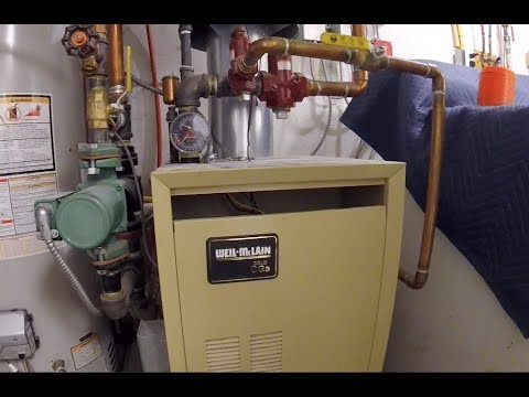 WEIL MCLAIN GOLD CGa DAMPER REPLACED - YouTube