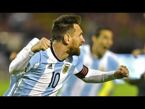 Download Lionel Messi vs Ecuador 2017 World Cup Qualifiers (Full Highlights) HD