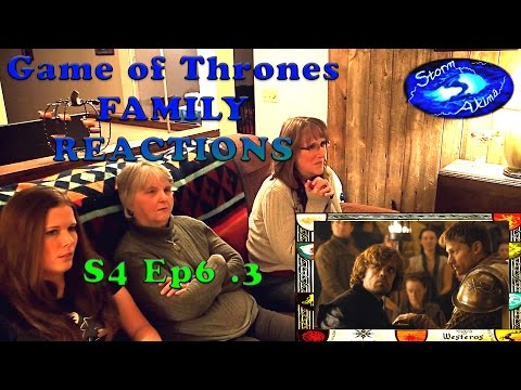 Game of Thrones FAMILY REACT S4 Ep6 .3