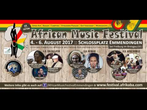 African Music Festival Emmendingen - Radio Werbung 2017