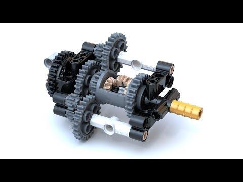 Lego Technic Planetary Gears Mechanism - Lego Technic Mastery - YouTube