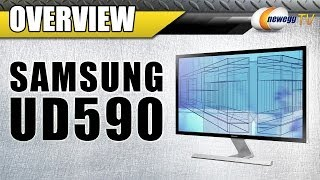 Samsung Ud590 4k Monitor Overview - Newegg Tv