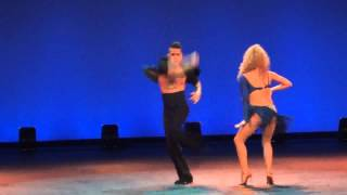 Johnny Vazquez James Brown Man's World Salsa Show Festival Corazon Latino 2012