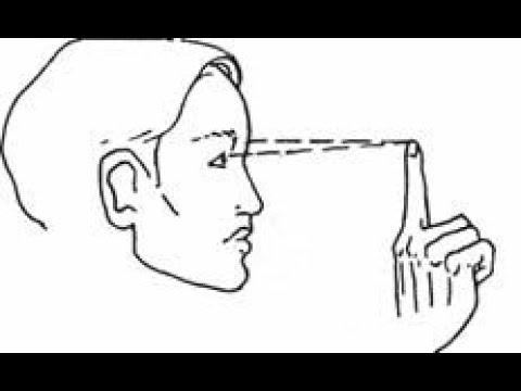 Комплекс упражнений для восстановления зрения по методу