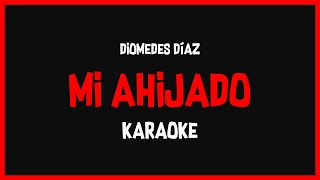 Karaoke: Diomedes Díaz - Mi Ahijado 🎤🎶