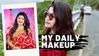 Get ready with me/my go to look /simple and easy makeup at home/ amrita gogoi