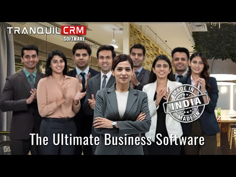 Sales CRM Software is the best Sales CRM software for Lead management from Tranquil