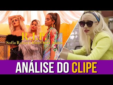 "Iggy Analisa: ""Sofia Reyes Anitta e Rita Ora - RIP"""