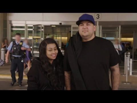 Get a First Look at Rob Kardashian and Blac Chyna's Fight-Filled Reality Show 'Rob & Chyna'