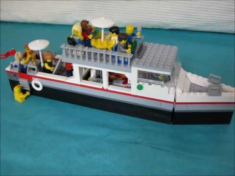 lego boat schiff boot bateau nave youtube. Black Bedroom Furniture Sets. Home Design Ideas
