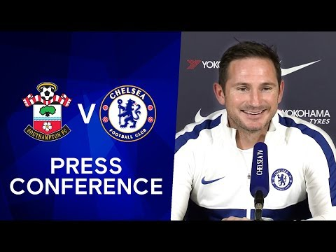Frank Lampard on Tammy Abraham & Fikayo Tomori's England Call Up | Southampton v Chelsea