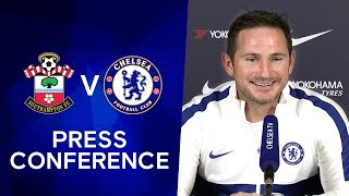 Frank Lampard on Tammy Abraham & Fikayo Tomori's England Call-up | Southampton v Chelsea