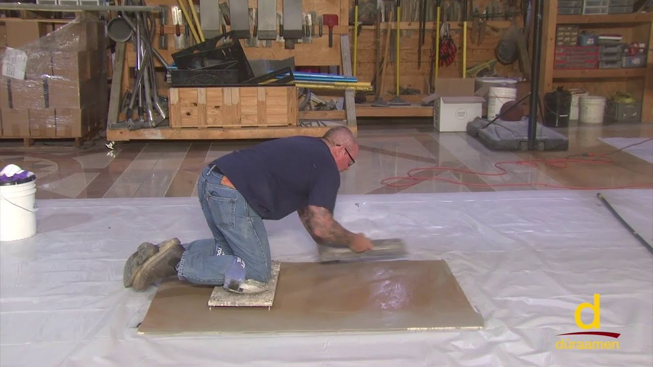 How to Install Semi Self-Leveling Cement