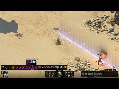 Pillars of Eternity II Sage (hel/bm) vs Dorudugan PotD solo |