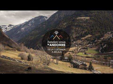 Paysage d'Andorre: de la Cortinada à Arcalis
