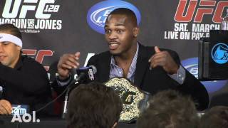 UFC 128: Jon Jones Recounts How He Took Down Thief on Fight Day