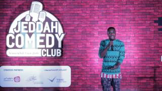 Alfred banks Jr : Jeddah comedy club PT. 1
