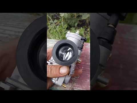Как ставить косо 34 мм на патрубок карбюратора иж планета