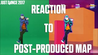 Just Dance 2017    #5 Episode : Reaction to post-produced Map - Making of a Just Dancer