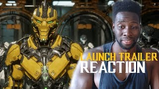 MORTAL KOMBAT 11 - Official Launch Trailer Reaction